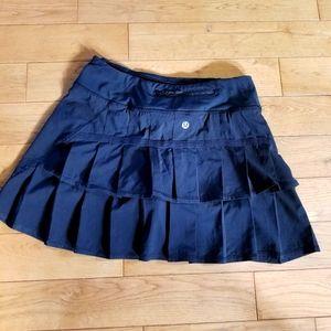 Lululemon Athletica Ruffled Skort Skirt Shorts